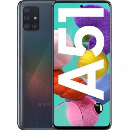 MÓVIL SMARTPHONE SAMSUNG GALAXY A51 BLACK 4GB + 128GB