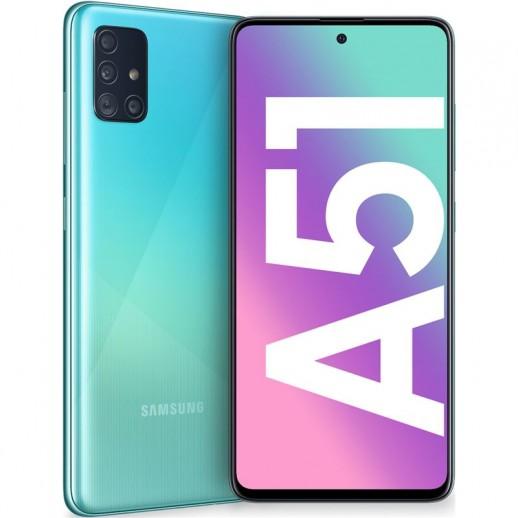 MÓVIL SMARTPHONE SAMSUNG GALAXY A51 BLUE 4+128GB